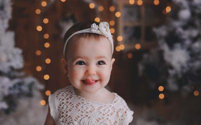Ema, 9 luni, Craciun 2019
