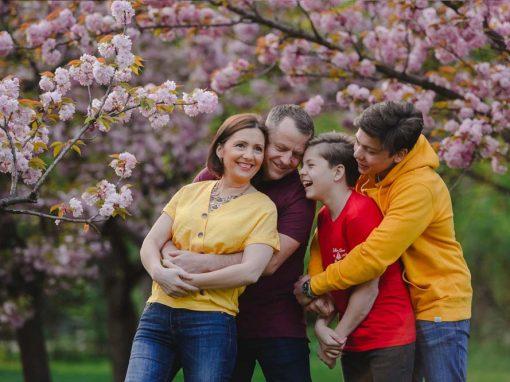 Fotografii tematice cu cireșii înfloriți
