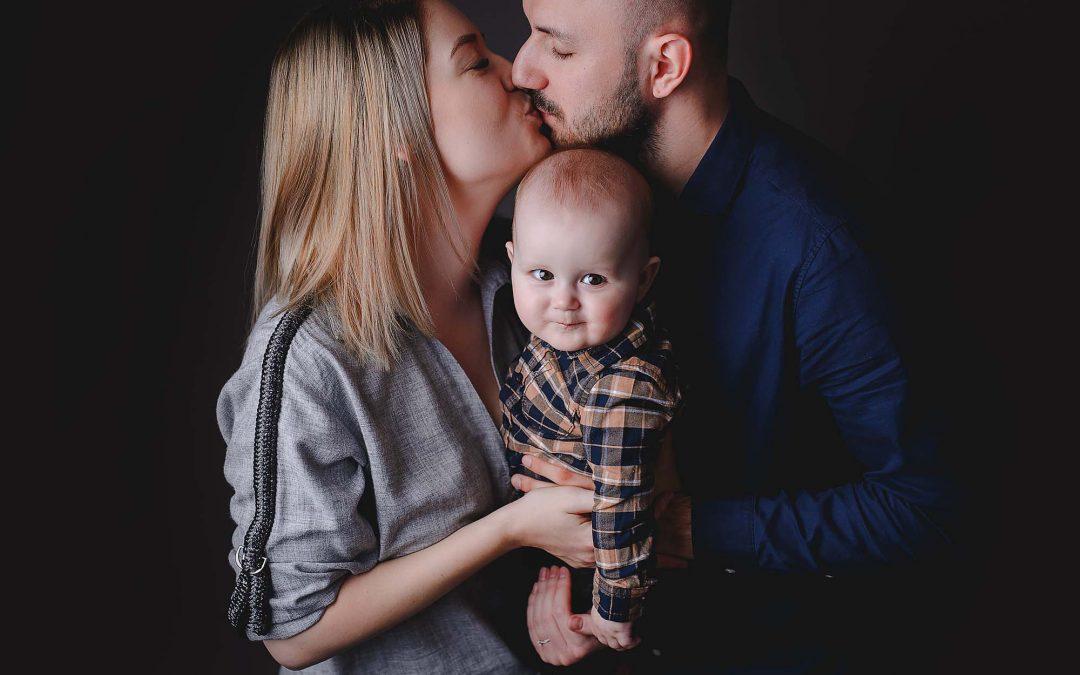 Alex, 7 luni