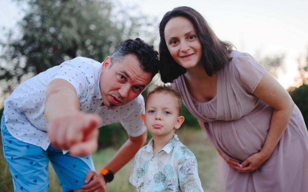 Tudor- 3 ani, Andreea si Marco