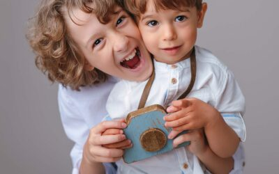 Stefan 11 ani si Teodor 3 ani